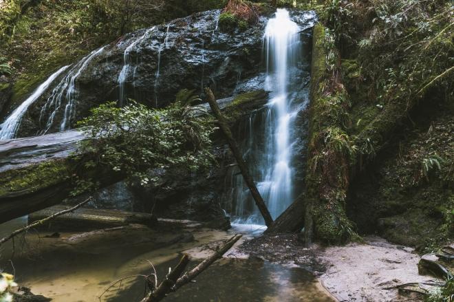 Waterfall Mendocino